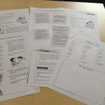 Worksheets Used